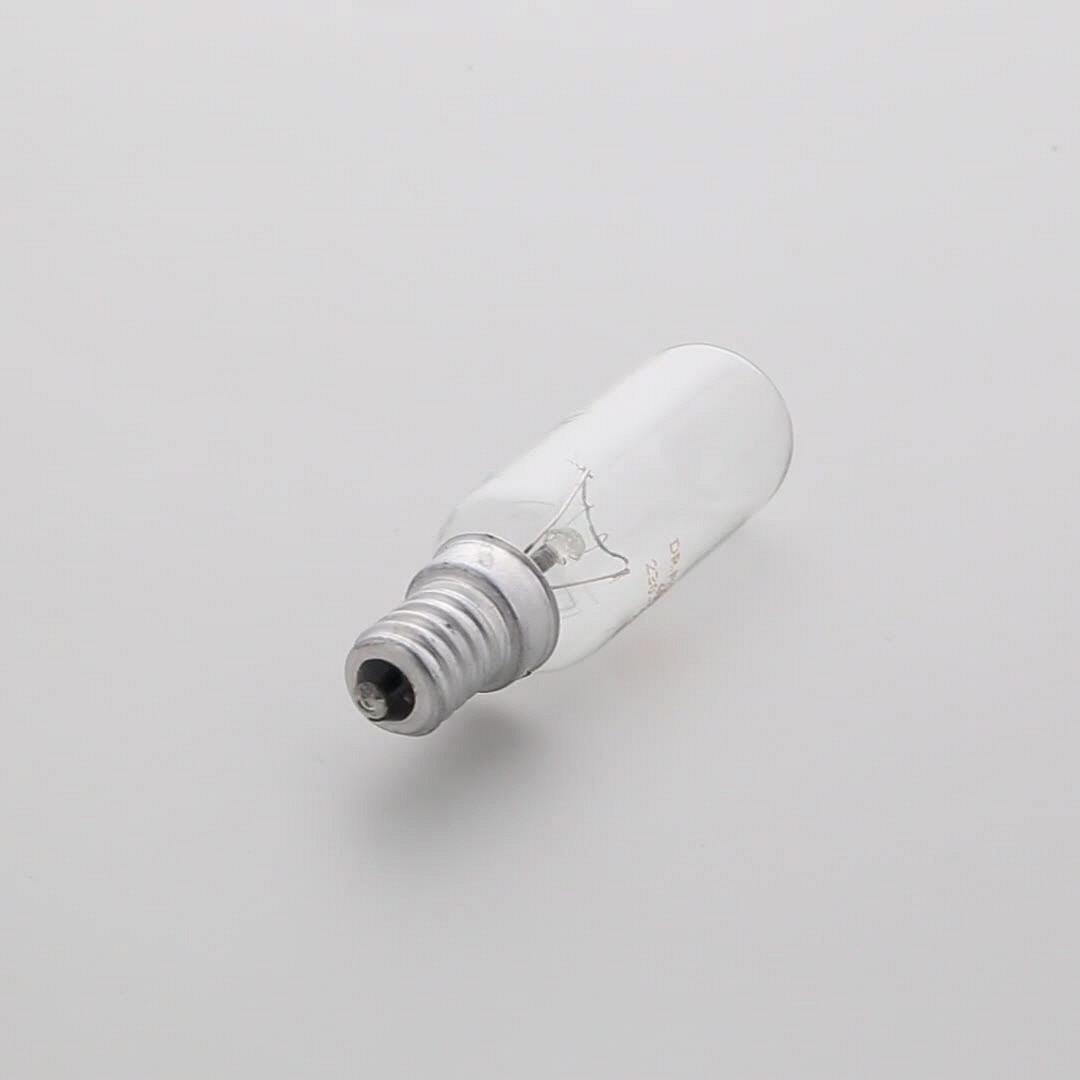 AMPOULE Hotte  40W E14 25*84 - 2