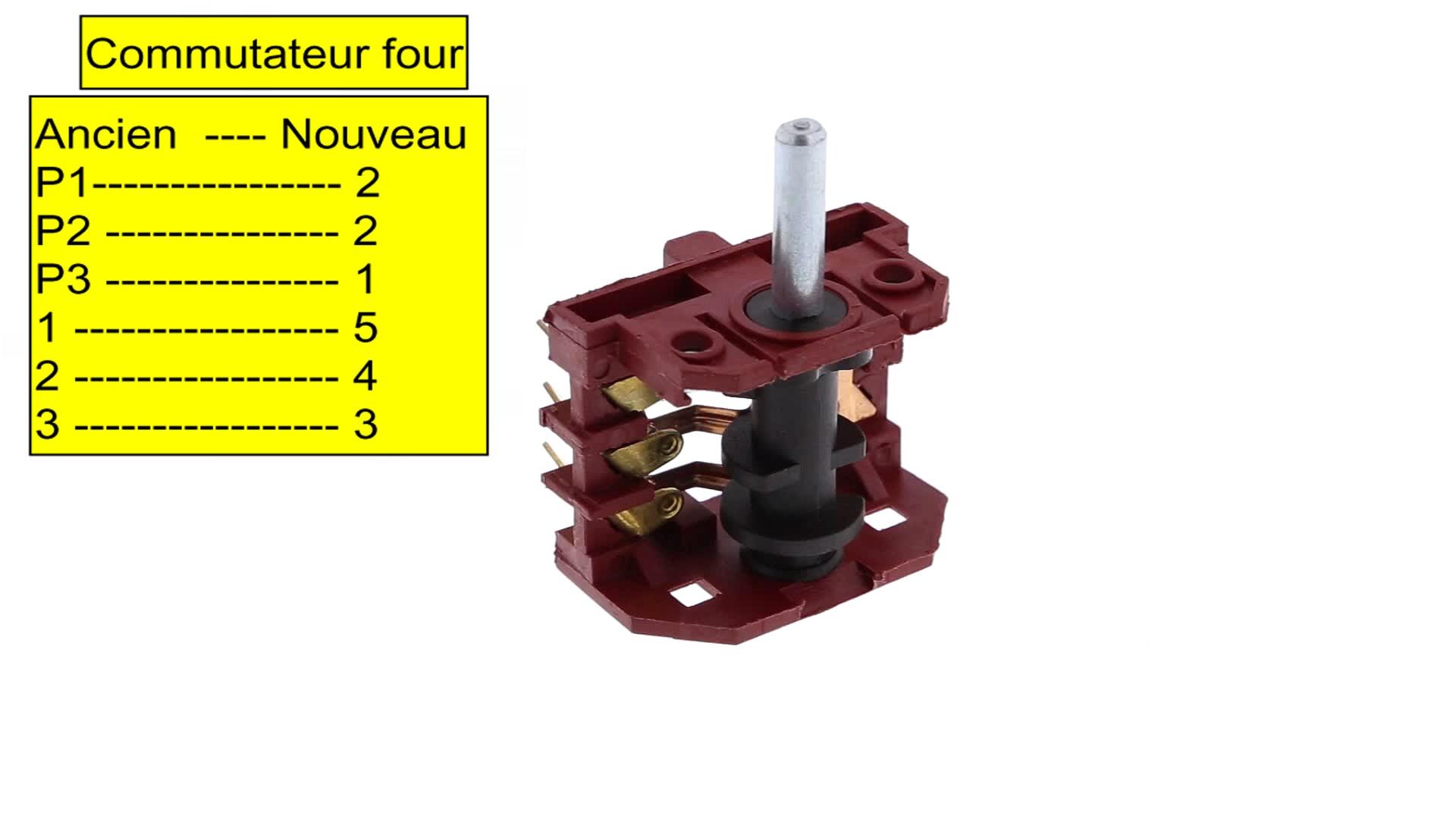 COMMUTATEUR CUISINIÈRE GRILL - 2