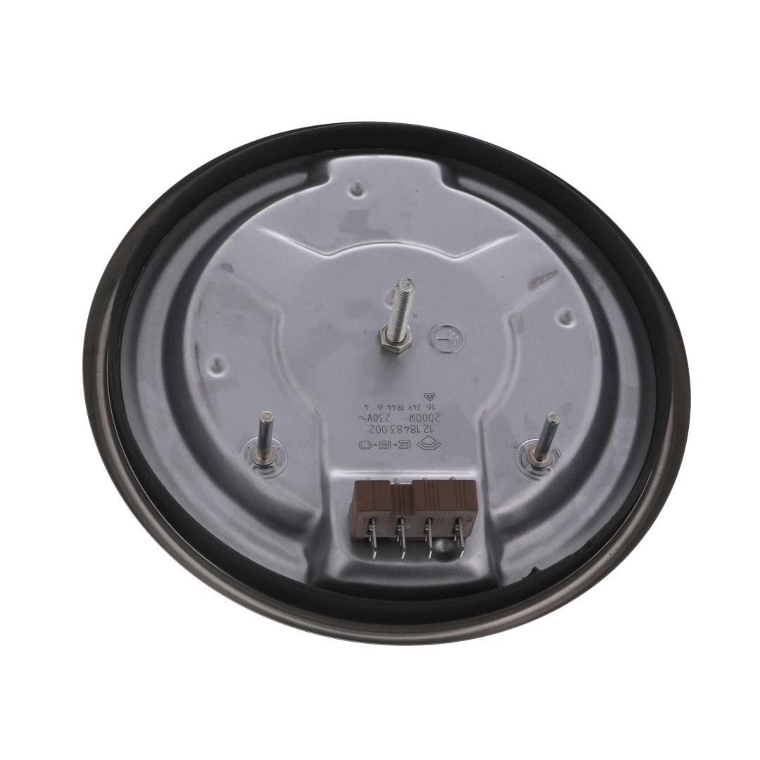 PLAQUE CUISINIÈRE ELECTRIQUE 180MM 2000W 4mm COSSES HP-180R-4