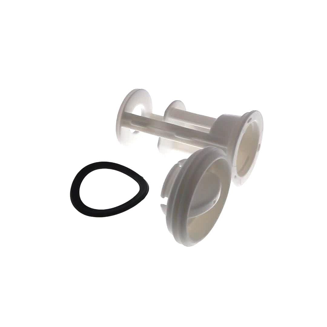 FILTRE Lave-Linge Pompe de vidange COMPLET (filtre+joint+bouchon)