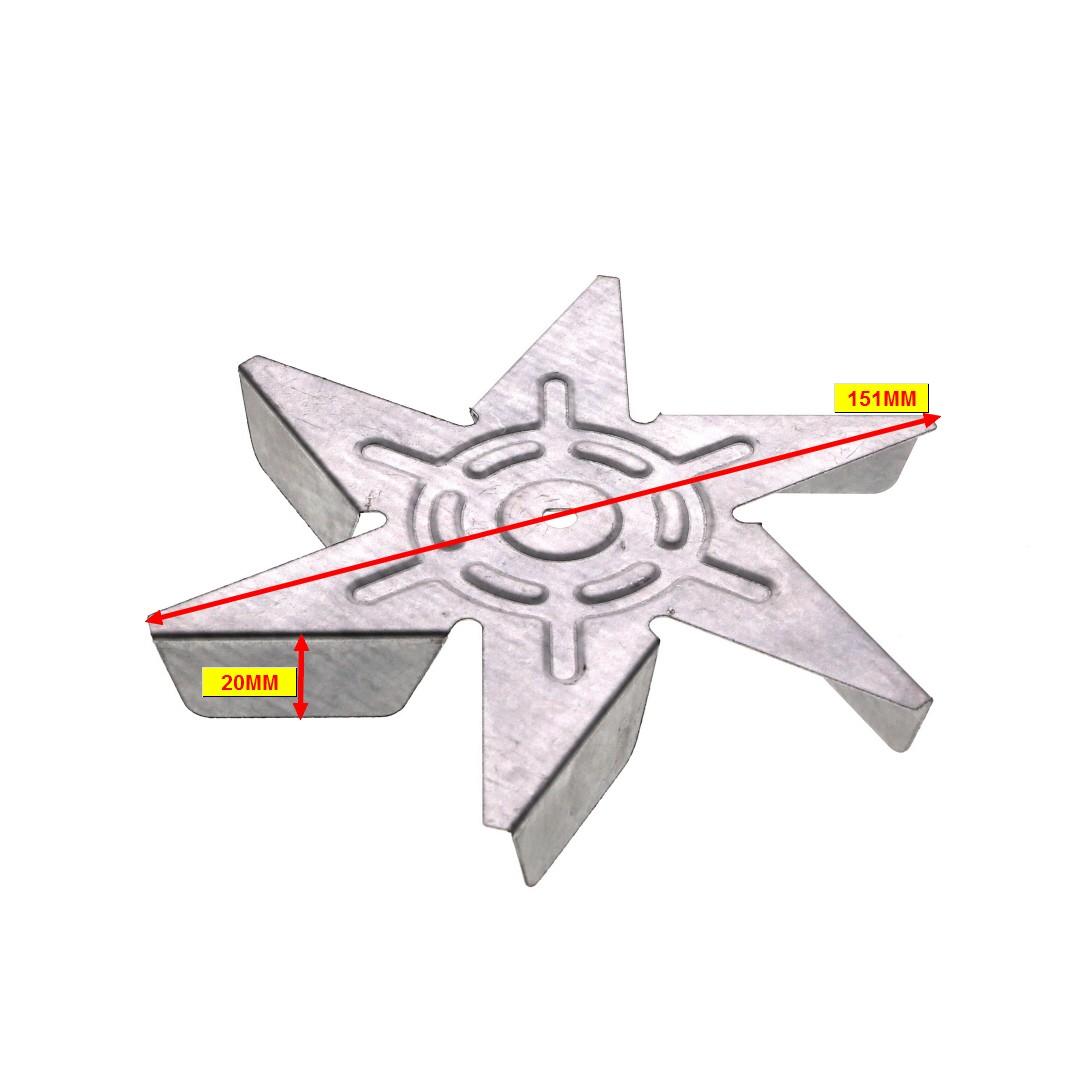 TURBINE CUISINIÈRE MOTEUR VENTILATION CT OU TANGENTIEL NOUVEAU MODÈLE D=150mm - 2