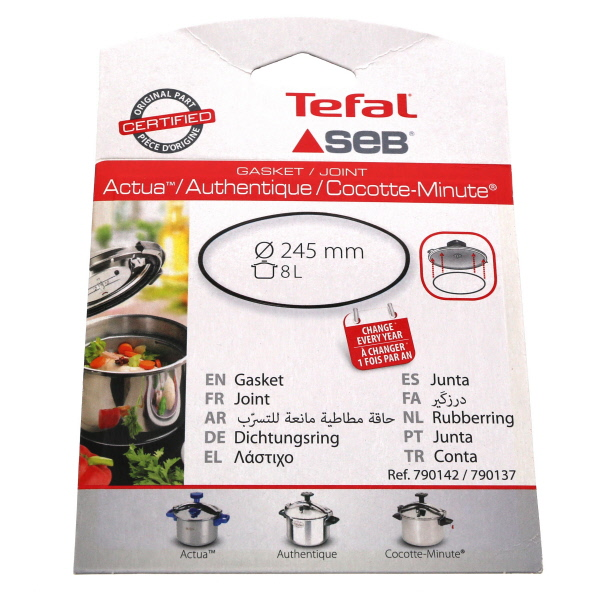 JOINT Petit electro mÉnager COCOTTE 8 litres inox 245mm - 2
