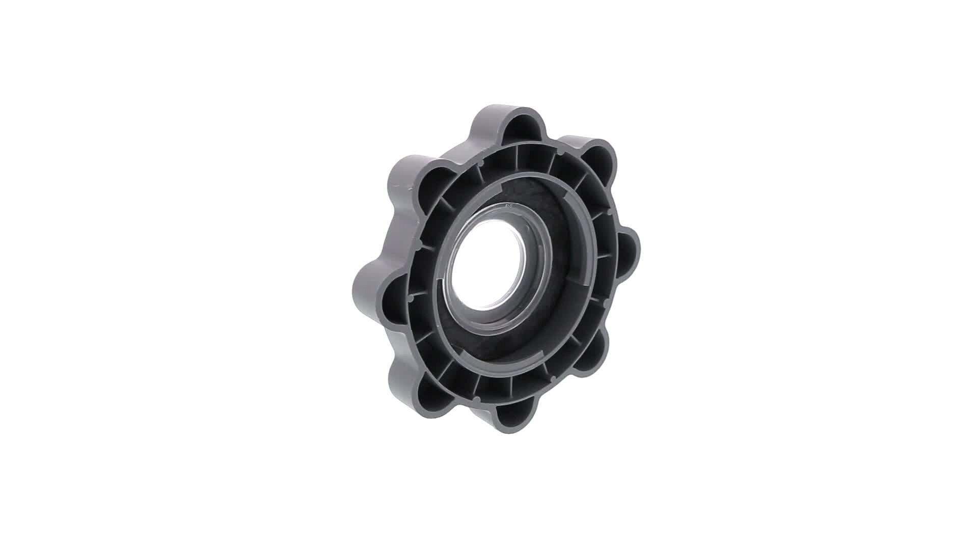 BOUCHON LAVE-VAISSELLE BAC SEL 90mm GRIS FONCE - 2