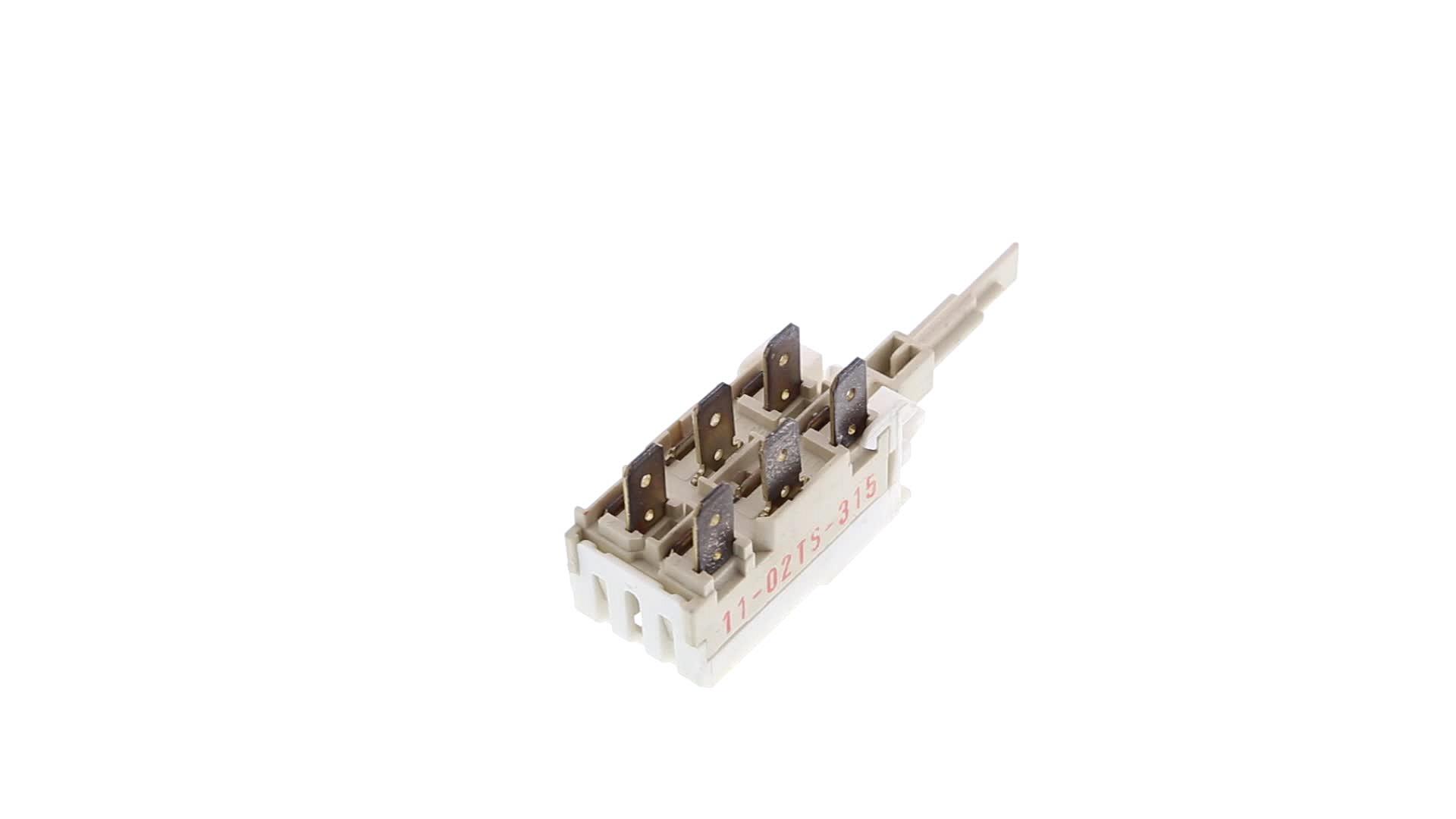 Interrupteur Lave-Linge 1T LONGUE 6 COSSES - 2