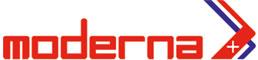 Logo de la marque MODERNA