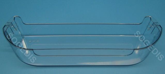 BALCONNET FROID BOUTEILLES TRANSPARENT BLEU 435*110 H=90mm