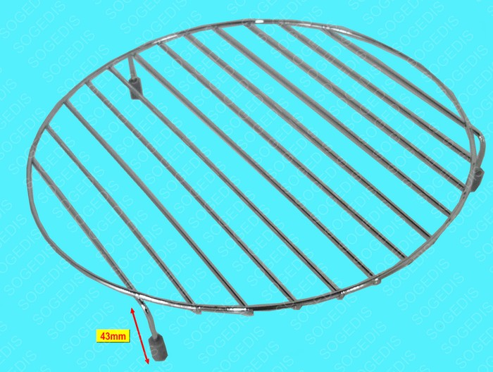 GRILLE Micro onde RONDE BASSE - 1