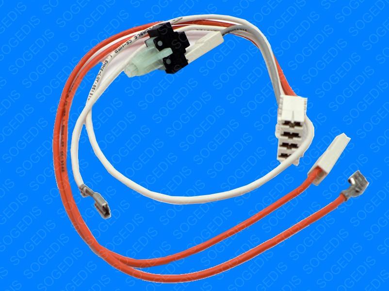 Interrupteur SÈche-Linge M/A E1065 + CABLE