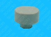 BOUTON Lave-Vaisselle Blanc POUSSOIR - 1
