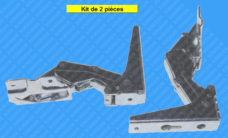 CHARNIERE FROID KIT 3362 5.0 3905 5.0+3363 5.0 3905 5.0