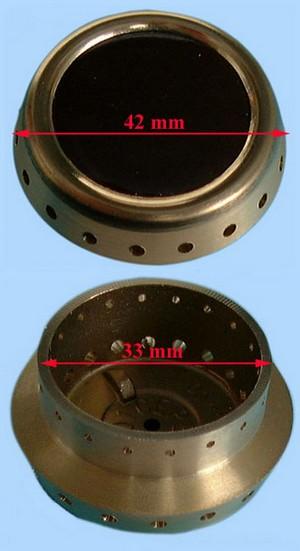 CHAPEAU CUISINIÈRE AUXILIAIRE D=32mm =EPUISE