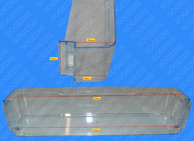 pi ces d tach es pour r frig rateur valberg valcbv252a icw 932735 sogedis. Black Bedroom Furniture Sets. Home Design Ideas