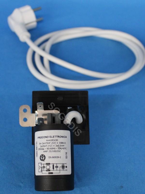 CONDO LAVE-LINGE ANTIPARASITE 444680430 +CABLE
