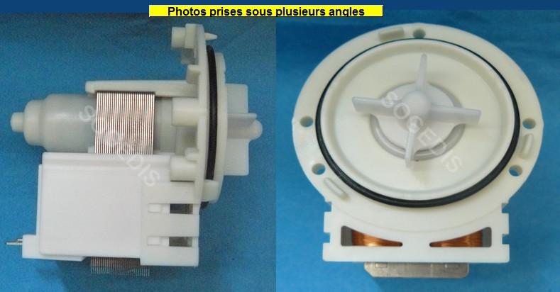 POMPE DE VIDANGE LAVE-LINGE DP020-036 HANNING 25W