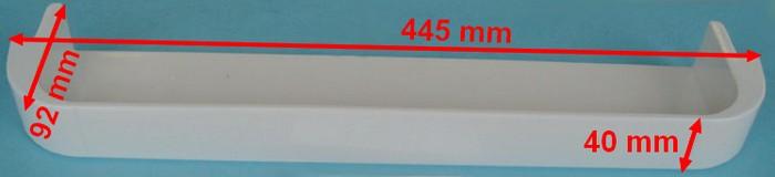 BALCONNNET FROID CENT ou INFÉRIEUR BLANC 445mm=EPUISE