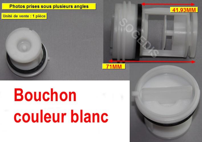 BOUCHON Lave-Linge POMPE VIDANGE HANNING 42065390