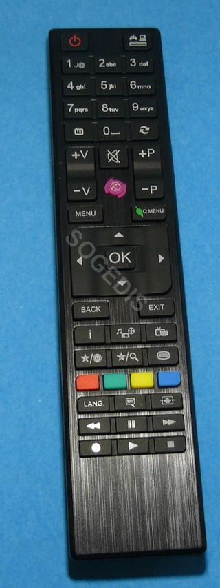 TELECOMMANDE TV RC4876 NOIRE remplacée par RC4875