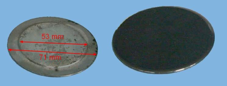 CHAPEAU Plaque BRULEUR Semi-rapide - 1
