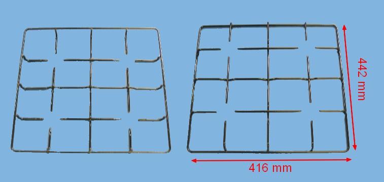 GRILLE CUISINIÈRE 4 FEUX EMAIL 440*415