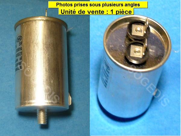 CONDENSATEUR SÈCHE-LINGE 10uF 450VAC R50241888