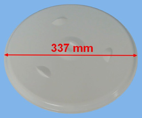 PLATEAU FOUR MICRO-ONDE BLANC D337 =EPUISE