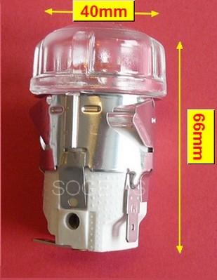 DOUILLE CUISINIÈRE LAMPE COMPLETE