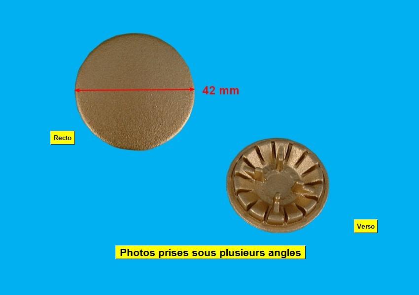 CHAPEAU CUISINIÈRE BRULEUR D=42 LAITON