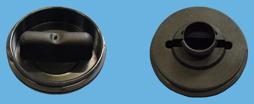 FILTRE LAVE-LINGE COMPLET (attention voir photo 2 types de filtre)