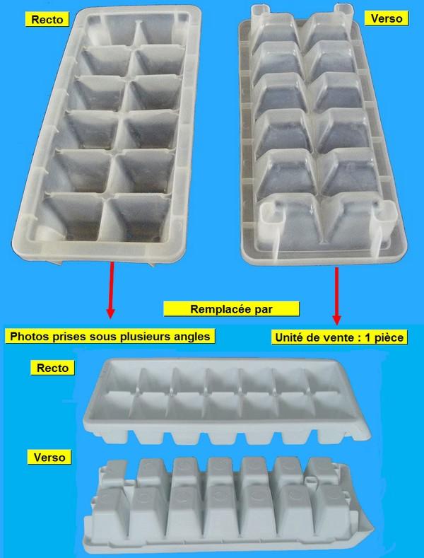 BAC FROID GLACONS 110*260*37 *différent suivant arrivage usine*