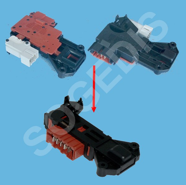 SECURITE Lave-Linge PORTE ROLD 13551 DA260 12821138A