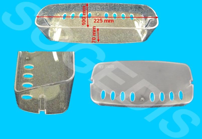 BALCONNET Froid 1/2  TRANSPARENT GRIS 5004JA1141 02.5HN-1-1 =EPUISE