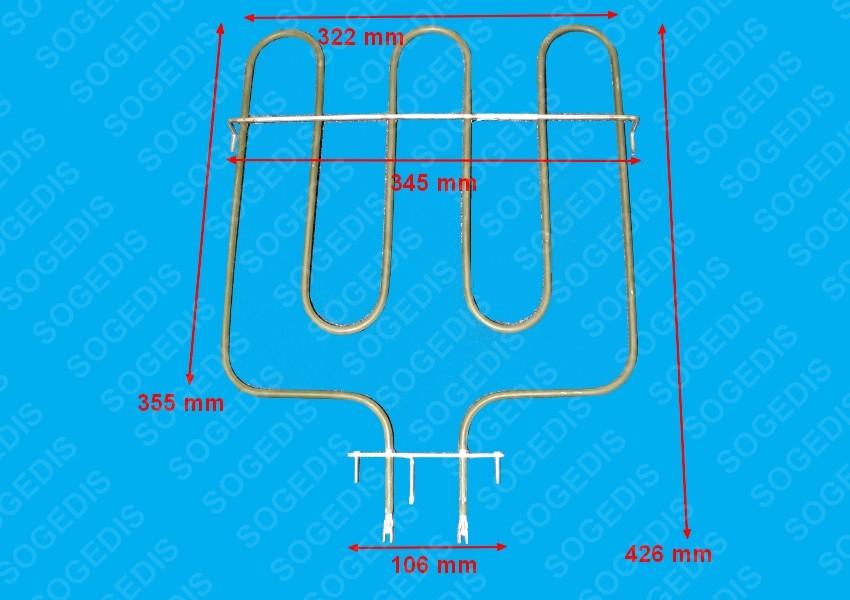 pi ces d tach es pour four sauter sfp930b sfp930b1 sogedis. Black Bedroom Furniture Sets. Home Design Ideas