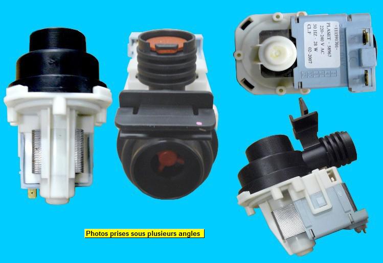 Pompe de vidange Lave-Vaisselle 58967 28W PLASET ou ASKOLL M103.1 292033/035 30W