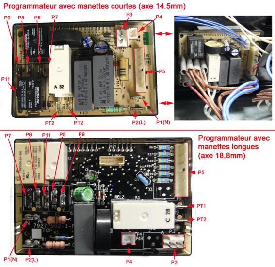 Programmateur Four PYRO 6T 88 801 610 2C