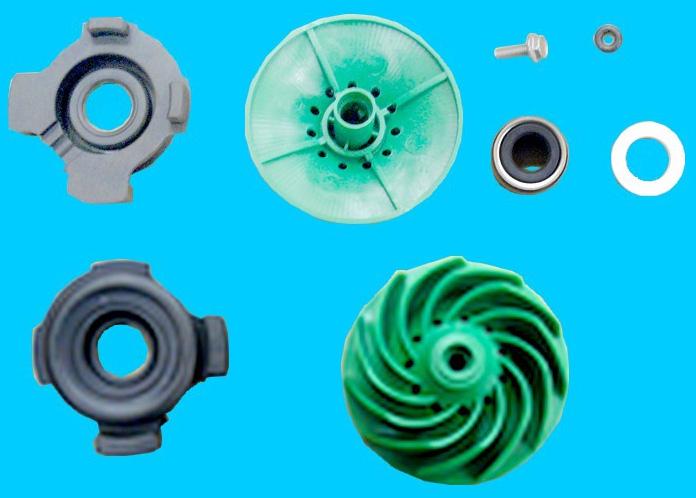 TURBINE Lave-Vaisselle KIT - 1