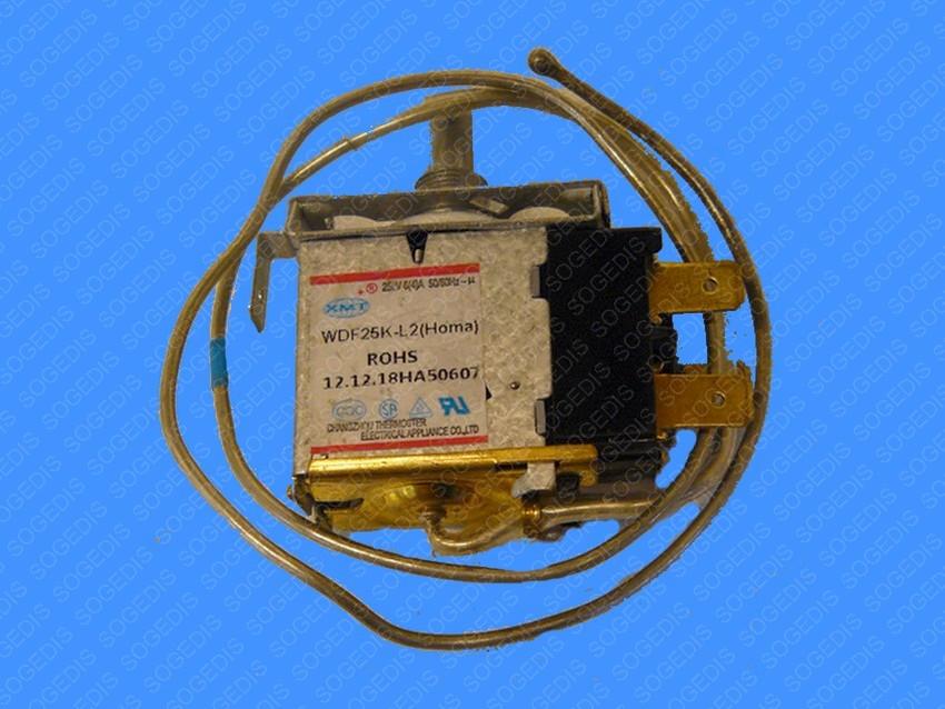 THERMOSTAT FROID RÉFRIGÉRATEUR WDF25K-1070-028 BULBE=600mm