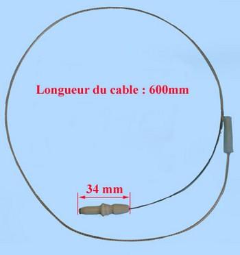 BOUGIE CUISINIÈRE SEMI-RAPIDE 600mm