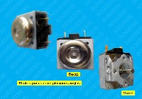 Miniature MINUTERIE CUISINIÈRE DKJ-Y  E170939 90' AXE LG 20.24 (AXE 4.41mm avec le méplat)