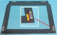 Miniature VITRE FOUR INTÉRIEURE 538*444 APRES 02-05-2010 PATTE SUPERIEURE 80mm DU HAUT