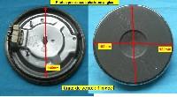 Miniature PLAQUE PLAQUE ELECTRIQUE 145mm 1000w 4mm EGO 13.14413.002