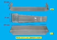 Miniature BALCONNET FROID BOUTEILLES TRANSPARENT VERT 365*80 H=90mm