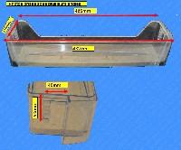Miniature BALCONNET FROID SUPÉRIEUR TRANSPARENT BLEU ou CLAIR