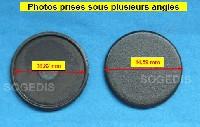 Miniature CHAPEAU Plaque BRULEUR Auxiliaire 45mm