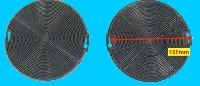 Miniature FILTRE Hotte CHARBON 150mm (lot de 2) EP=15mm