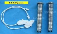 Miniature CABLE Lave-Vaisselle PORTE + RESSORT NOIR
