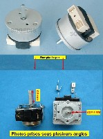 Miniature PROGRAMMATEUR FOUR MINUTERIE ELECTRIQUE TM10930120 axe=24mm