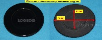 Miniature CHAPEAU CUISINIÈRE BRULEUR SEMI-RAPIDE D=73mm