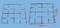 Miniature GRILLE CUISINIÈRE 4 FEUX EMAIL 440*415