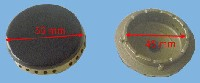 Miniature CHAPEAU CUISINIÈRE BRULEUR SEMI-RAPIDE 56mm