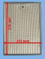 Miniature FILTRE Hotte METAL 316*233